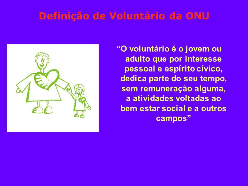 Definição de Voluntário da ONU