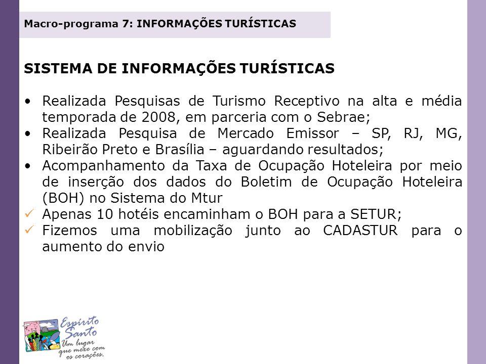 SISTEMA DE INFORMAÇÕES TURÍSTICAS