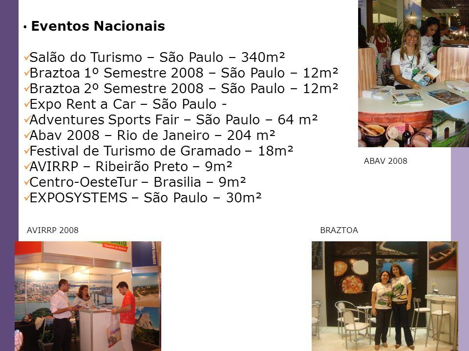 Salão do Turismo – São Paulo – 340m²