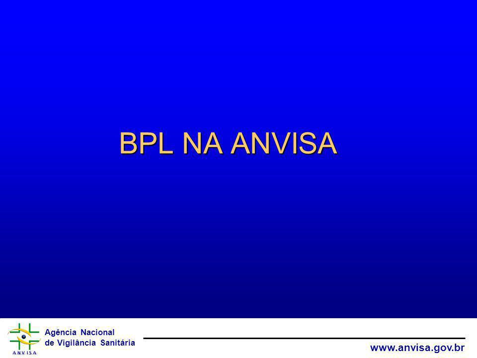 BPL NA ANVISA