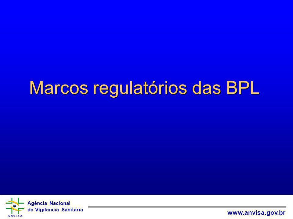 Marcos regulatórios das BPL