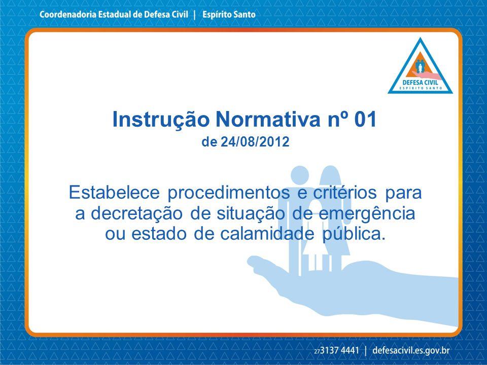 Instrução Normativa nº 01