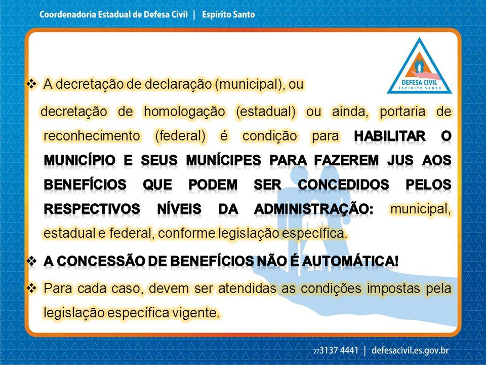 A decretação de declaração (municipal), ou