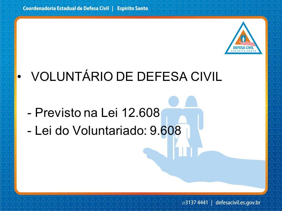 VOLUNTÁRIO DE DEFESA CIVIL