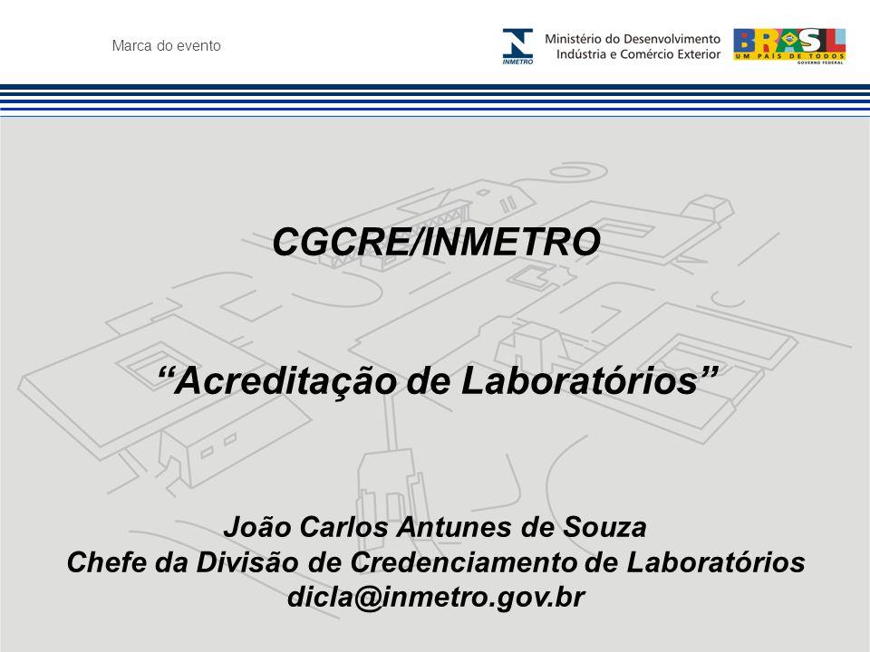 CGCRE/INMETRO Acreditação de Laboratórios