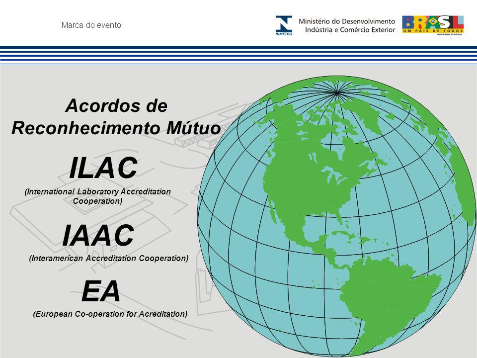 ILAC IAAC EA Acordos de Reconhecimento Mútuo