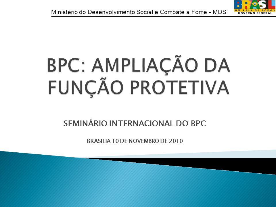 BPC: AMPLIAÇÃO DA FUNÇÃO PROTETIVA