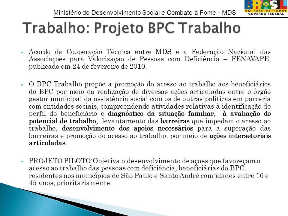 Trabalho: Projeto BPC Trabalho
