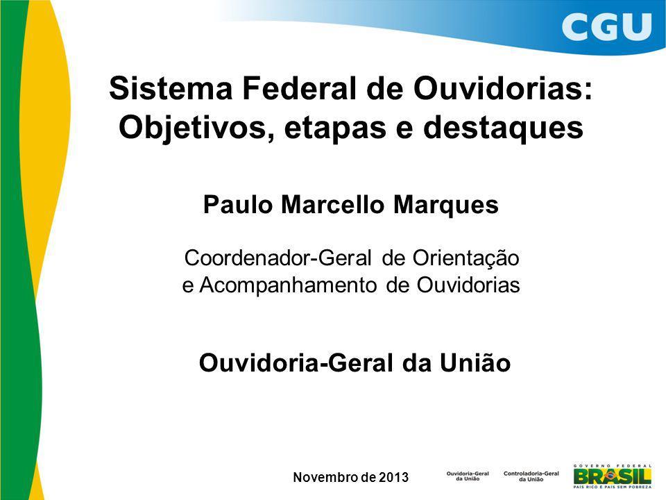 Sistema Federal de Ouvidorias: Objetivos, etapas e destaques