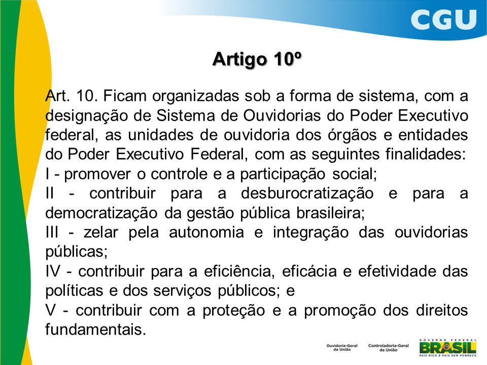 Artigo 10º