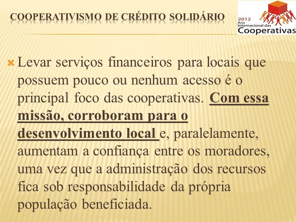 Cooperativismo de crédito solidário