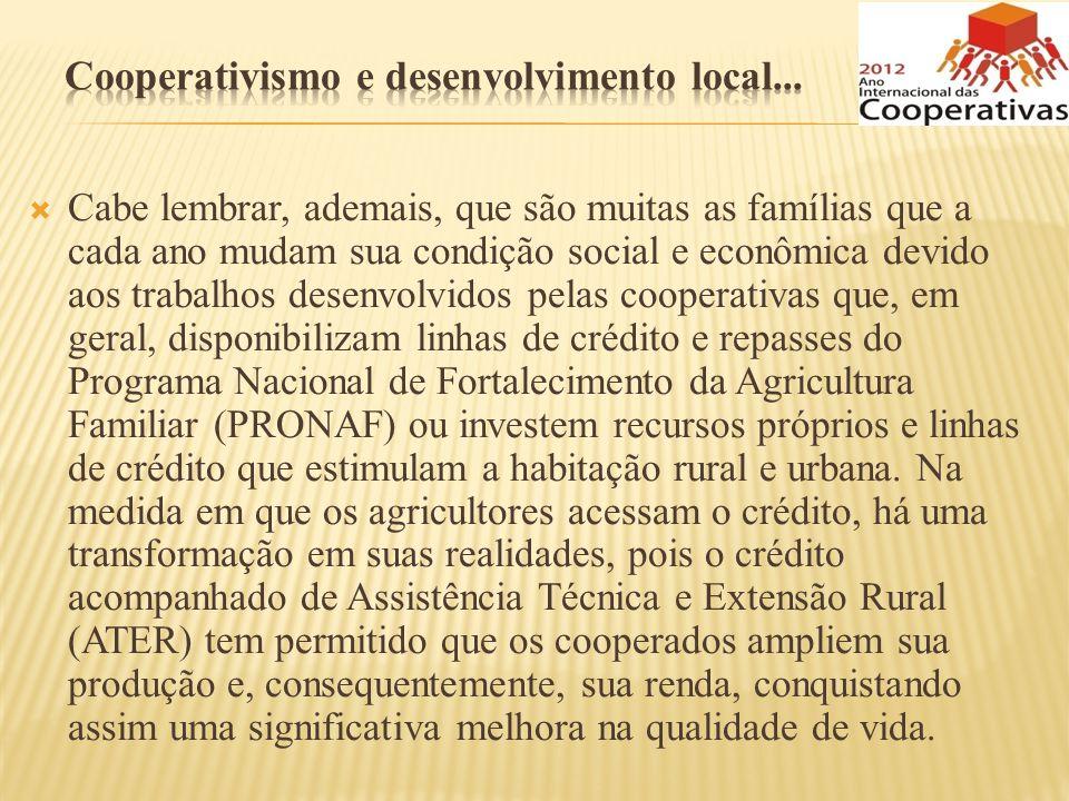 Cooperativismo e desenvolvimento local...