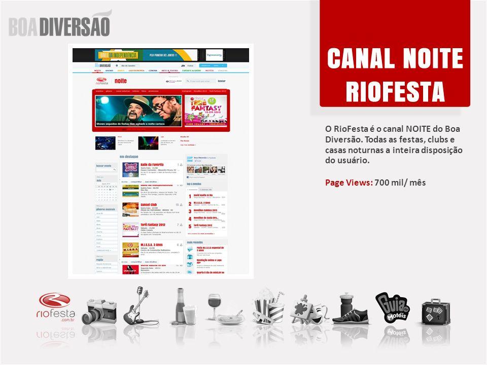 O RioFesta é o canal NOITE do Boa Diversão