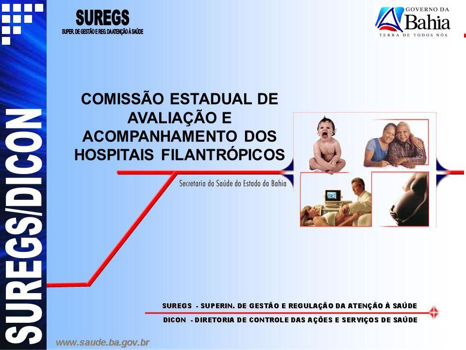 COMISSÃO ESTADUAL DE AVALIAÇÃO E ACOMPANHAMENTO DOS HOSPITAIS FILANTRÓPICOS