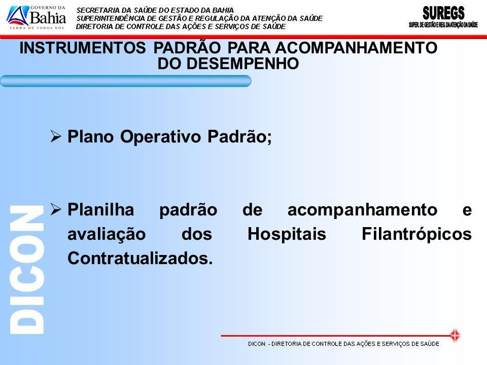 INSTRUMENTOS PADRÃO PARA ACOMPANHAMENTO