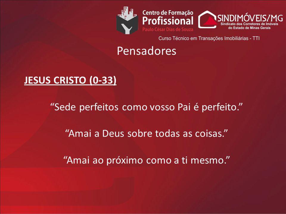 Pensadores JESUS CRISTO (0-33)