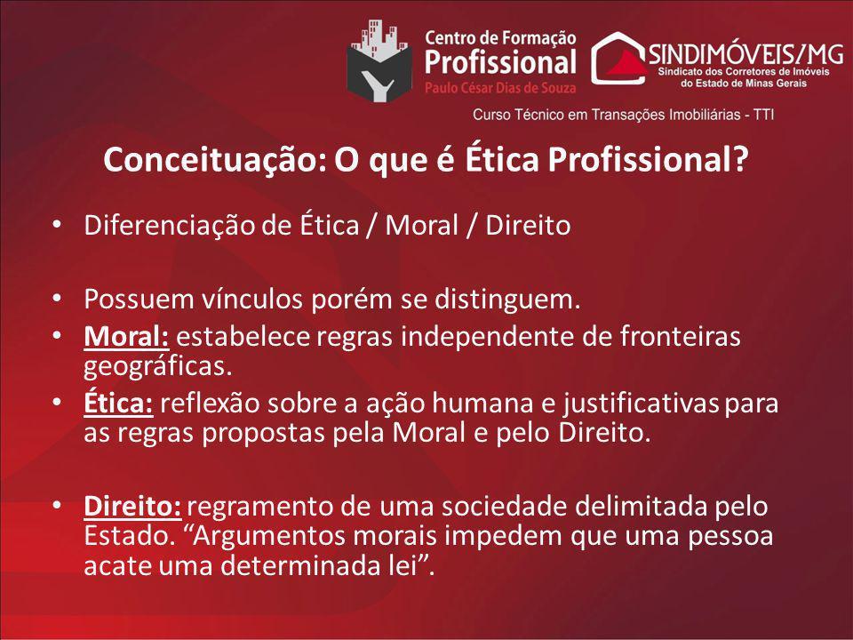 Conceituação: O que é Ética Profissional