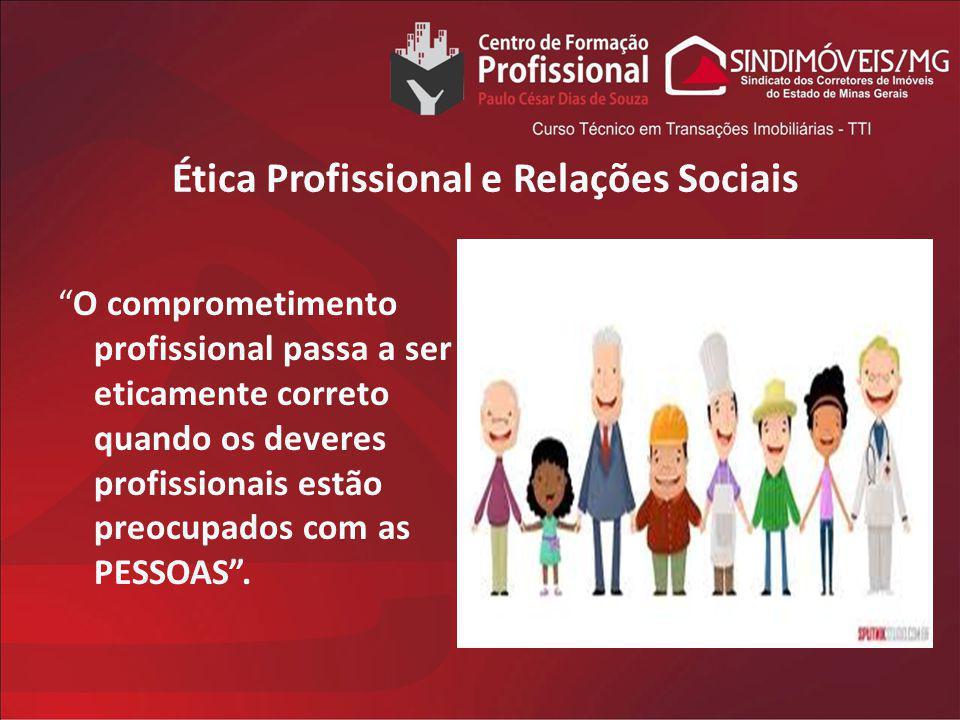 Ética Profissional e Relações Sociais