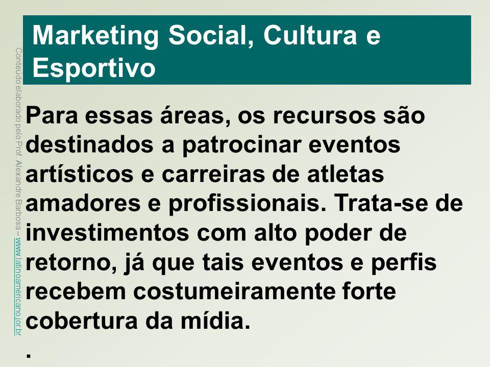 Marketing Social, Cultura e Esportivo