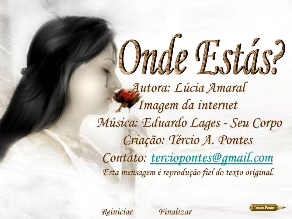 Música: Eduardo Lages - Seu Corpo Criação: Tércio A. Pontes