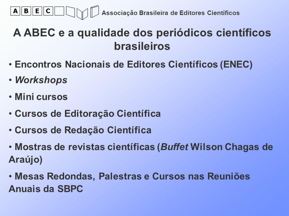 A ABEC e a qualidade dos periódicos científicos brasileiros