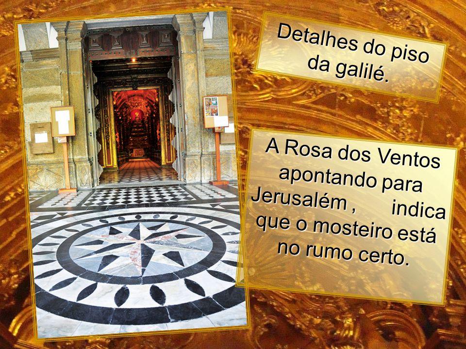 Detalhes do piso da galilé.