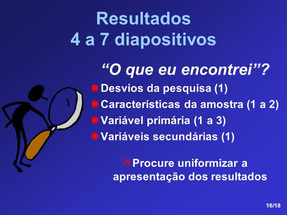 Resultados 4 a 7 diapositivos