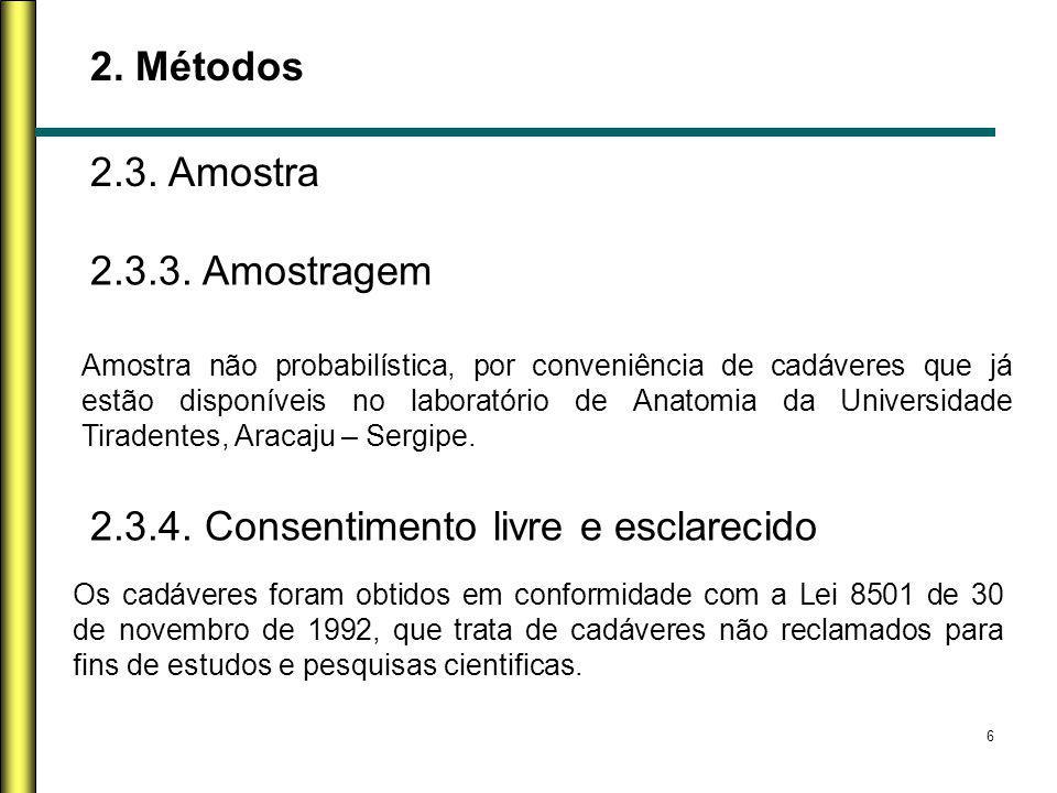 2.3.4. Consentimento livre e esclarecido
