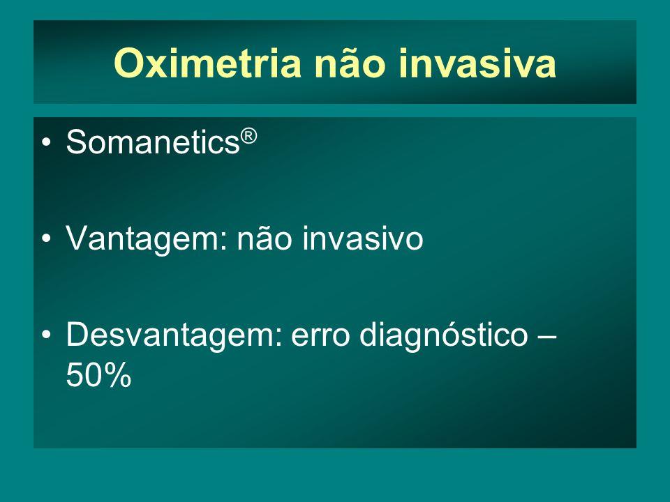 Oximetria não invasiva