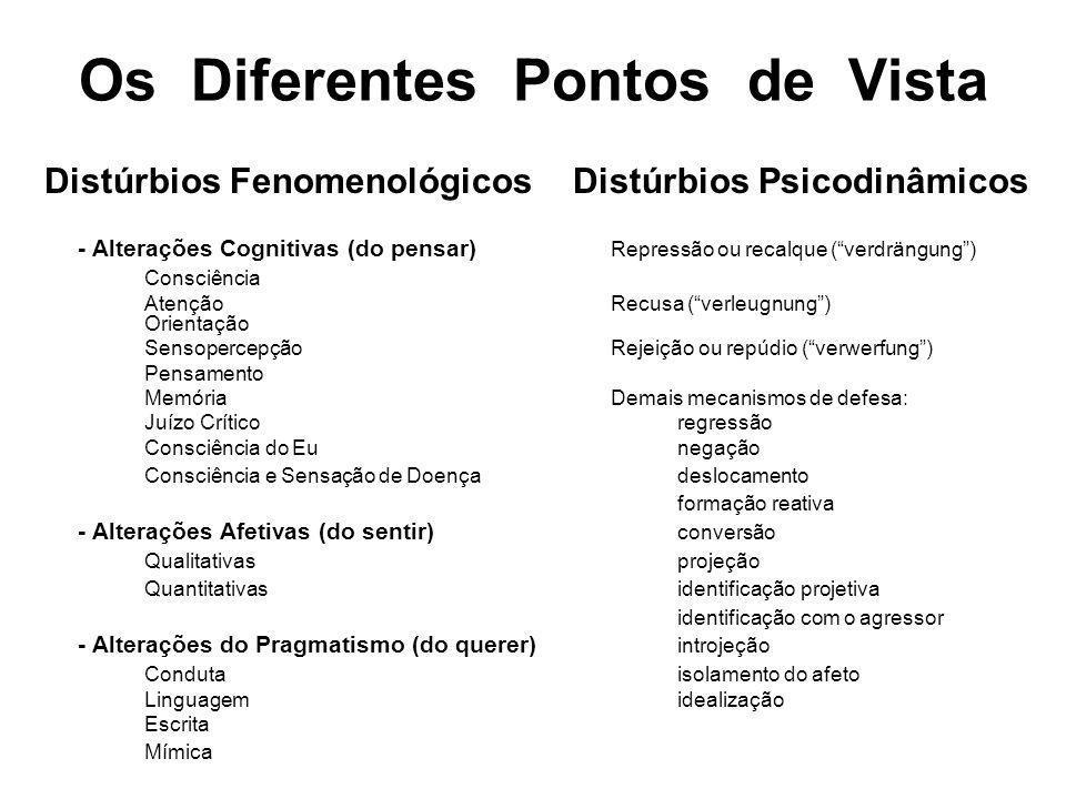 Os Diferentes Pontos de Vista