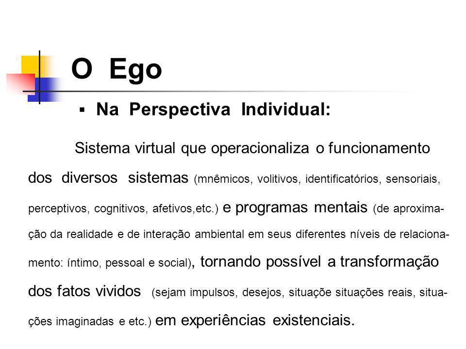 O Ego Na Perspectiva Individual: