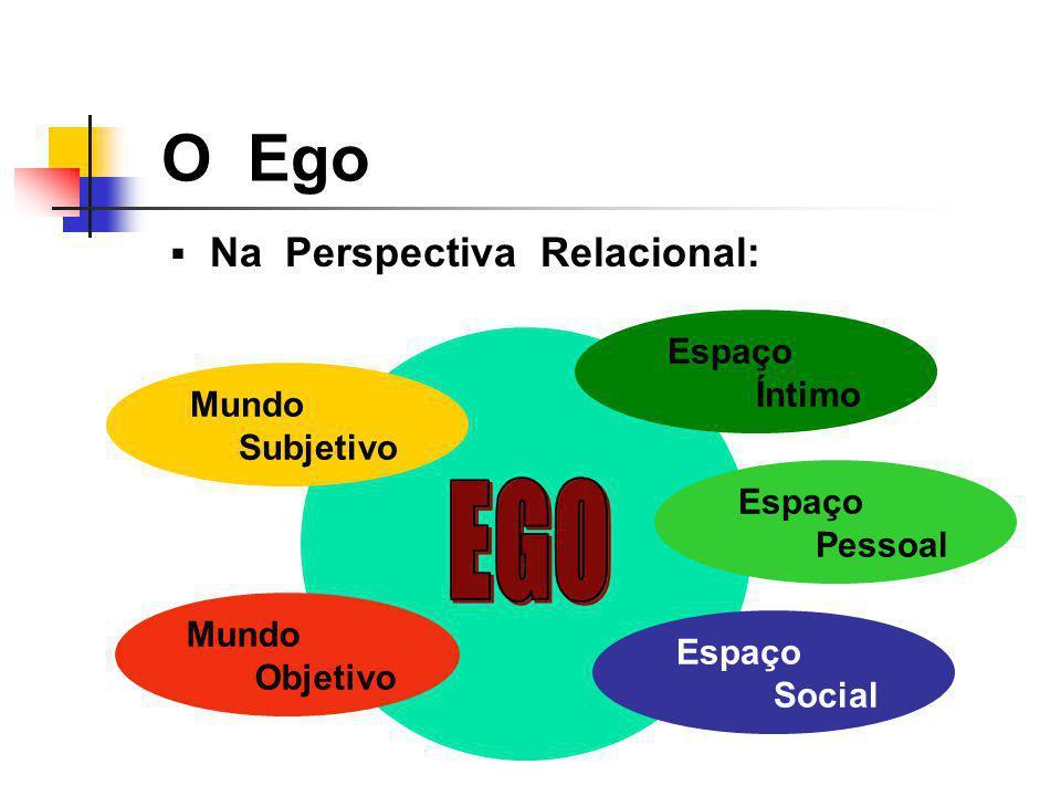 EGO O Ego Na Perspectiva Relacional: Espaço Íntimo Mundo Subjetivo