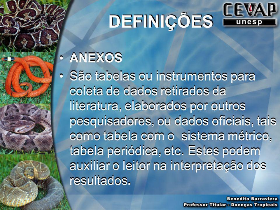 DEFINIÇÕES ANEXOS.