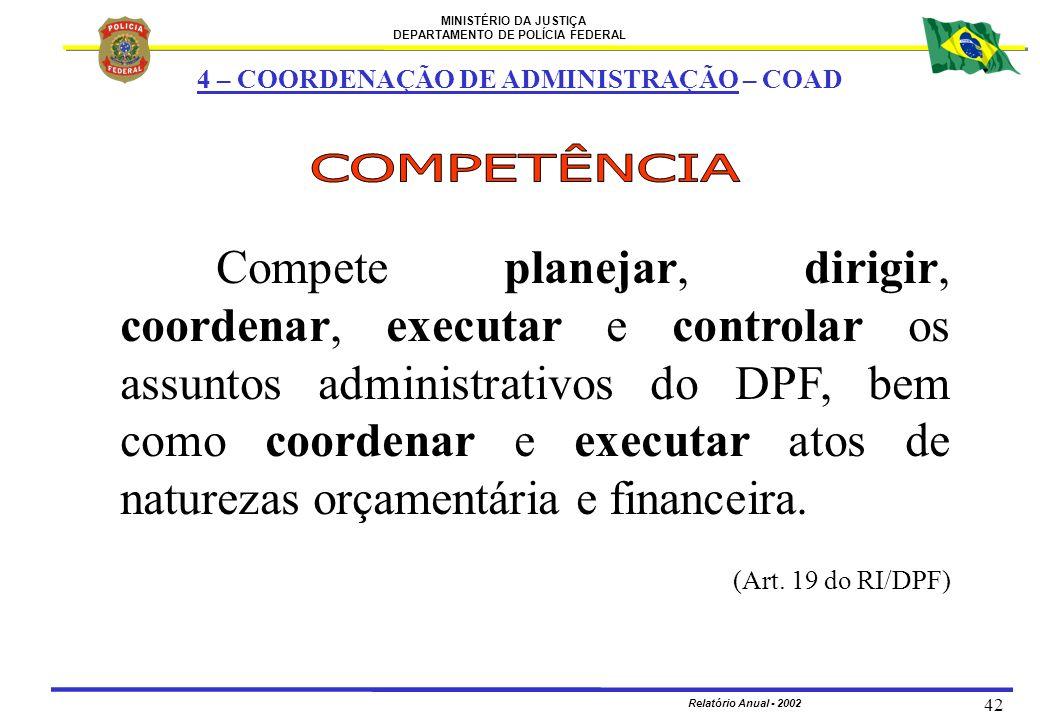 4 – COORDENAÇÃO DE ADMINISTRAÇÃO – COAD