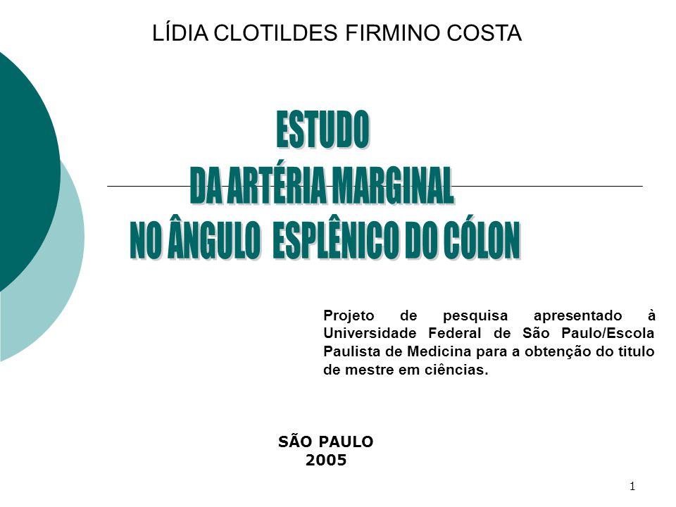NO ÂNGULO ESPLÊNICO DO CÓLON