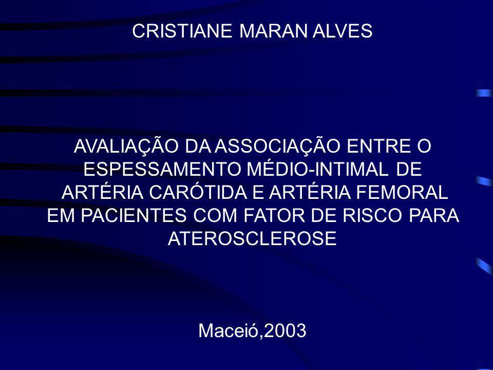 CRISTIANE MARAN ALVES