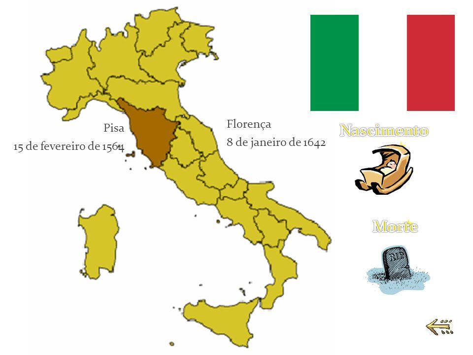 Nascimento Morte Florença Pisa 8 de janeiro de 1642