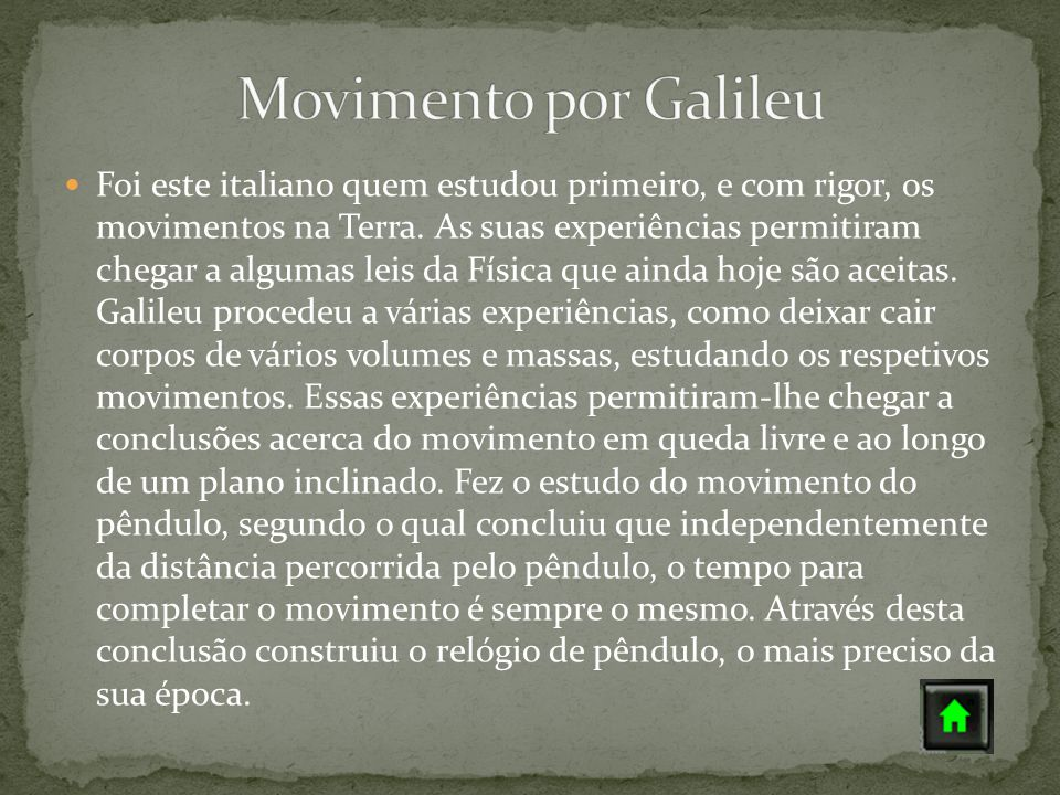 Movimento por Galileu