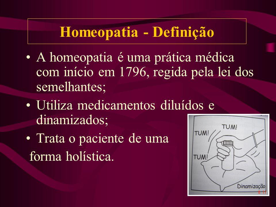 Homeopatia - Definição