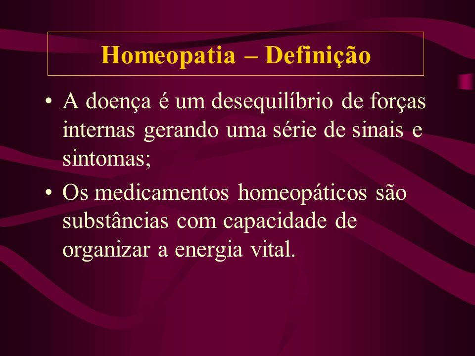 Homeopatia – Definição