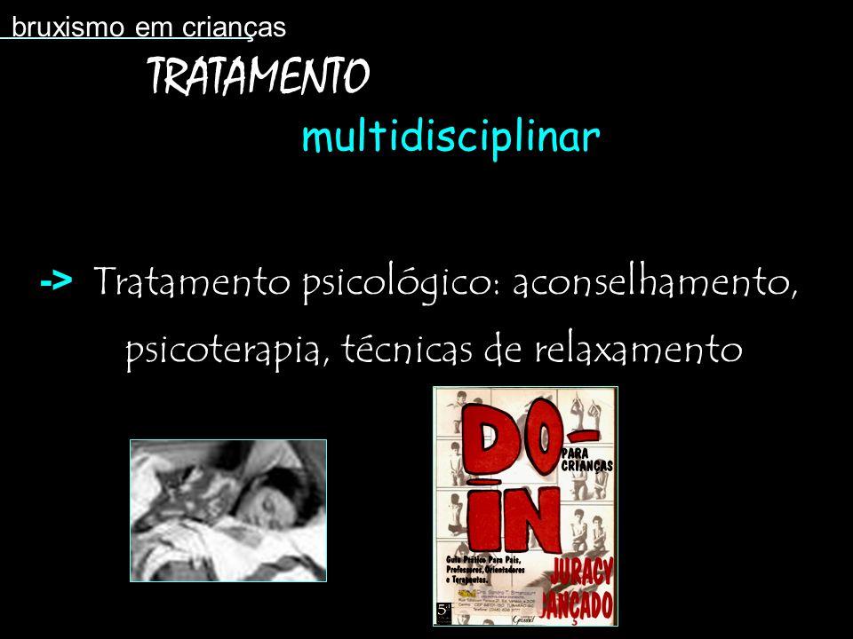 TRATAMENTO multidisciplinar