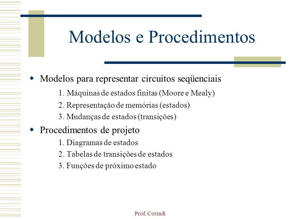 Modelos e Procedimentos