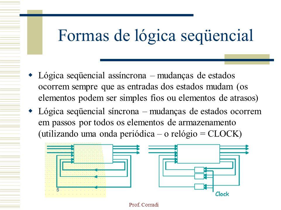 Formas de lógica seqüencial