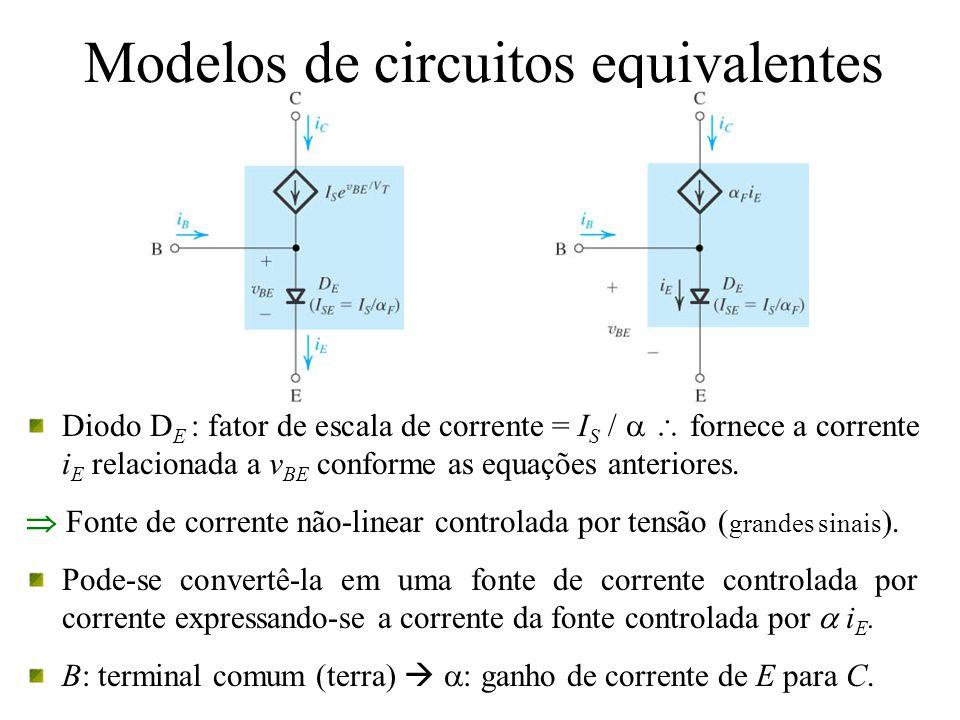 Modelos de circuitos equivalentes