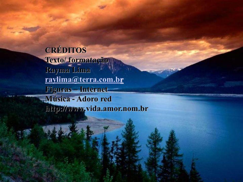 CRÉDITOS Texto/ formatação. Rayma Lima. raylima@terra.com.br. Figuras – Internet. Música - Adoro red.