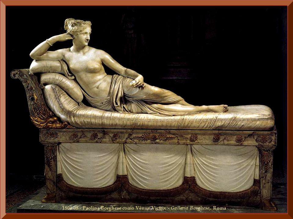 1804-08 - Paolina Borghese como Vénus Victrix - Galleria Borghese, Roma