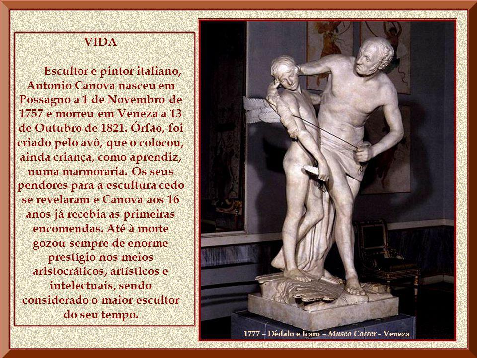 1777 – Dédalo e Ícaro – Museo Correr - Veneza