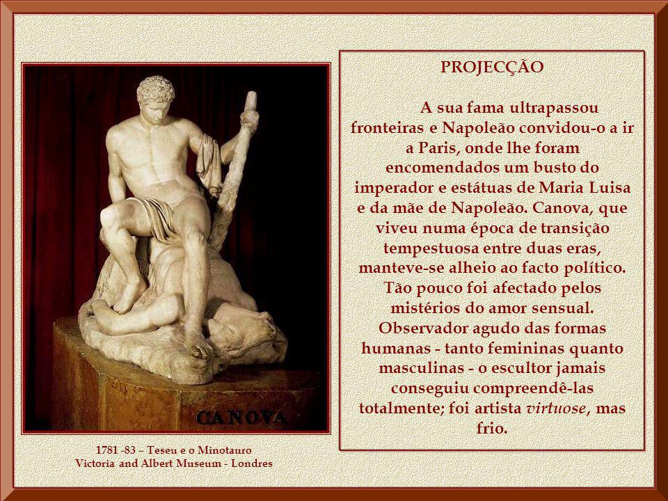 1781 -83 – Teseu e o Minotauro Victoria and Albert Museum - Londres