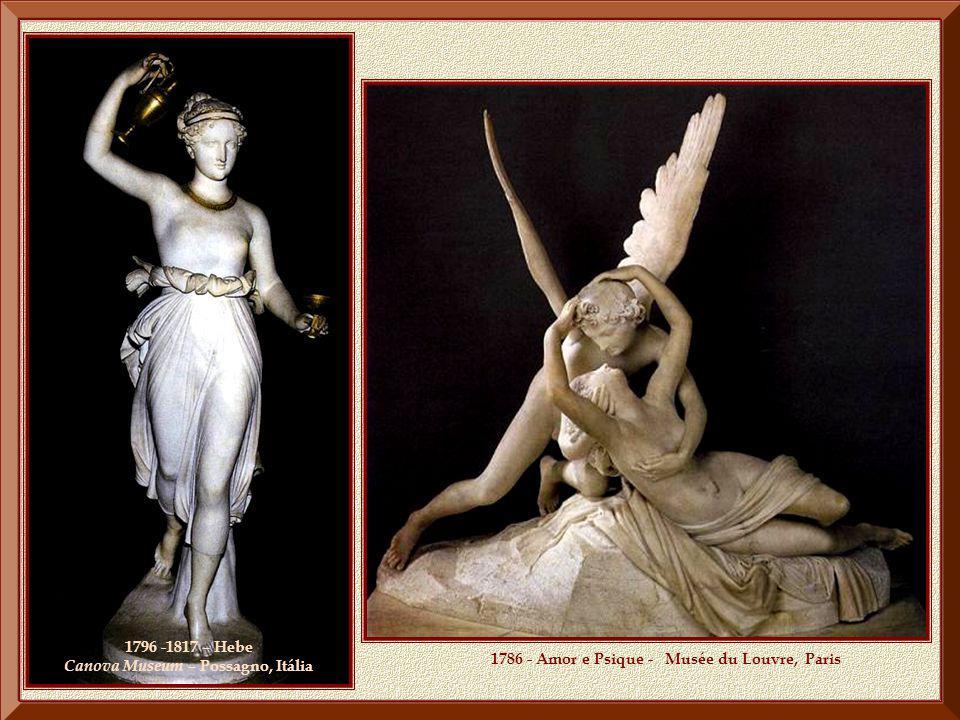 1796 -1817 – Hebe Canova Museum – Possagno, Itália
