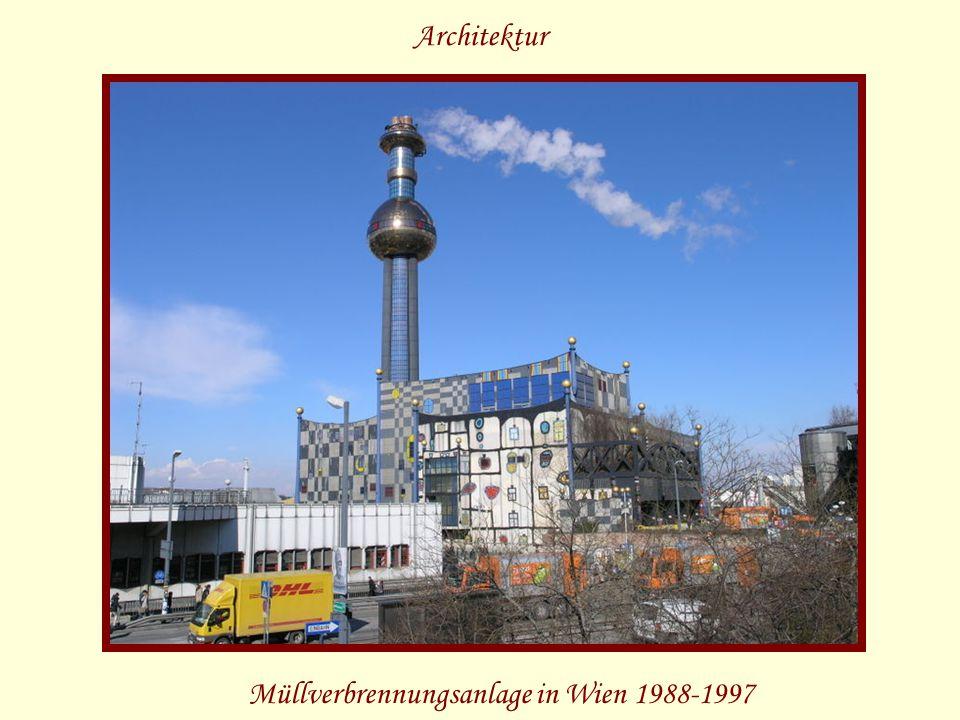 Müllverbrennungsanlage in Wien 1988-1997